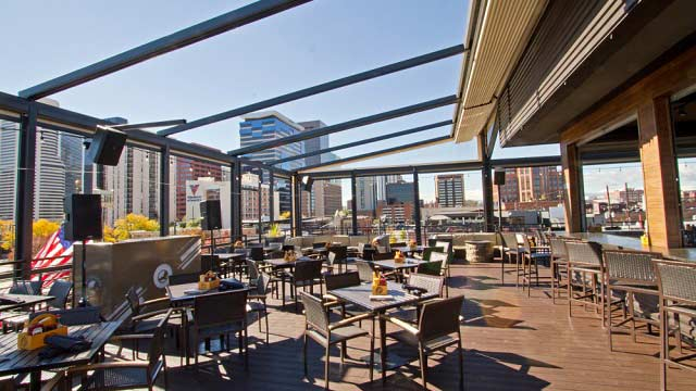Rooftop ViewHouse Ballpark in Denver