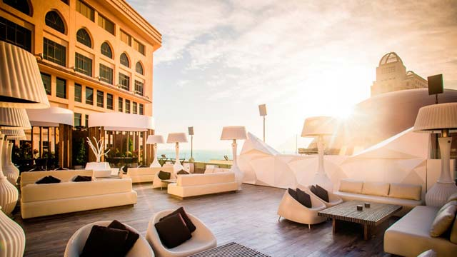 Rooftop bar Doha The Rooftop Doha at St Regis in Doha