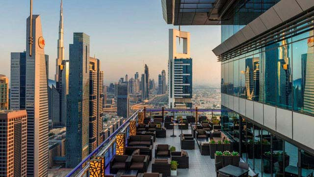Level 43 Sky Lounge Rooftop Bar In Dubai The Rooftop Guide