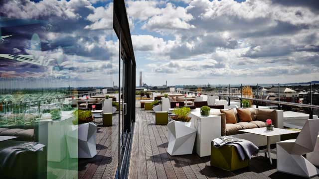 Rooftop bar Dublin The Marker Hotel in Dublin