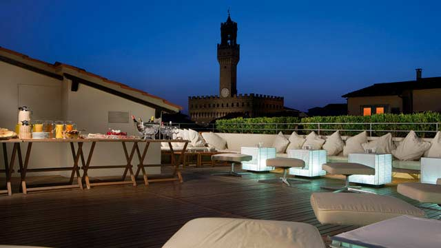 La Terrazza at Hotel Continentale - Rooftop bar in Florence ...