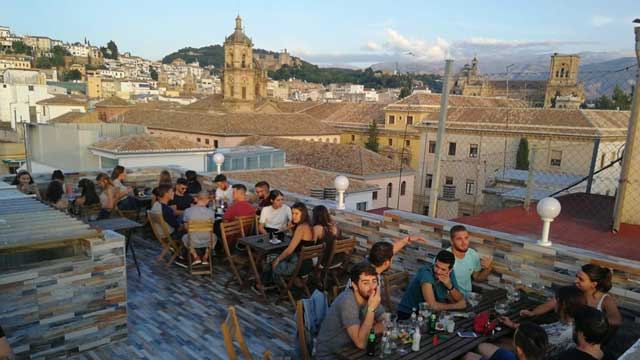 Terraza Monasterio Chill Out Rooftop Bar In Granada The