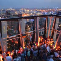 best rooftop bars in hamburg 2018 complete with all info. Black Bedroom Furniture Sets. Home Design Ideas