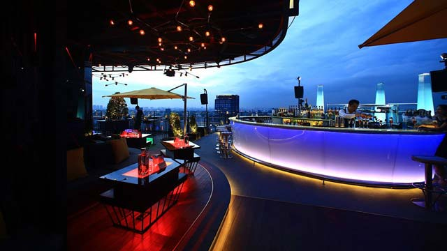 Rooftop bar Ho Chi Minh Air 360 Skybar in Ho Chi Minh