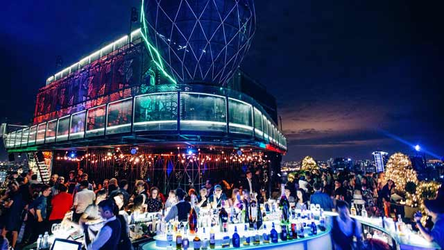 Rooftop bar Ho Chi Minh Air 360 Sky Lounge in Ho Chi Minh