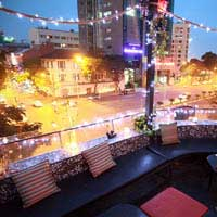 Rooftop bar Ho Chi Minh Broma Bar in Ho Chi Minh