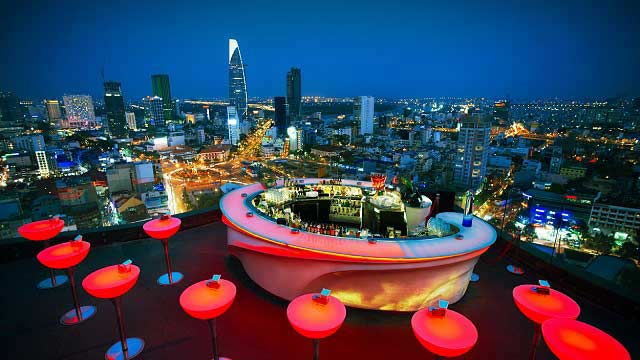Best rooftop bars in Ho Chi Minh