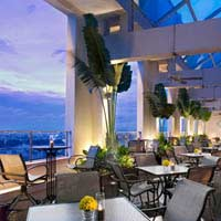 Rooftop bar Ho Chi Minh Level 23 Wine Bar at Sheraton Saigon in Ho Chi Minh