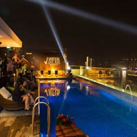 Rooftop bar Ho Chi Minh Liberty Central Saigon Riverside Hotel in Ho Chi Minh