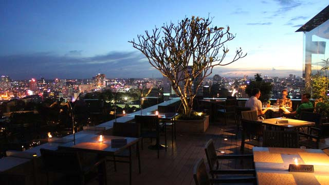 Shri Restaurant Amp Lounge Rooftop Bar In Ho Chi Minh