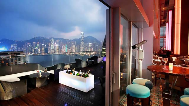 Rooftop bar Hong Kong Eyebar in Hong Kong