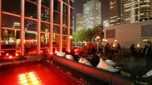 Rooftop bar Hong Kong RED Bar in Hong Kong