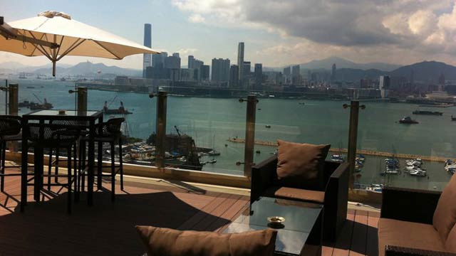 Rooftop Bar Skye At Hotel De Park Lane In Hong Kong