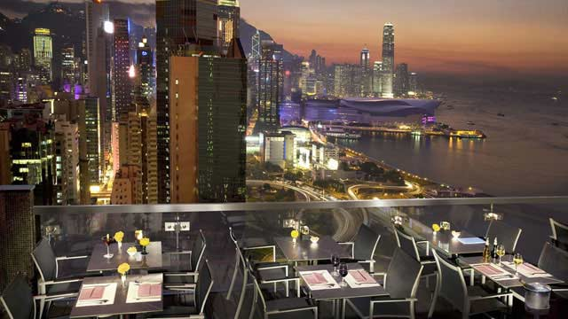 Rooftop bar Hong Kong ToTT's and Roof Terrace in Hong Kong