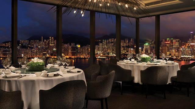 Hotel Icon Hong Kong Rooftop Bar In Hong Kong The