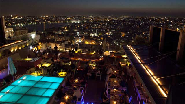 Best Rooftop Bars In Istanbul 2018 Complete With All Info