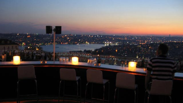 Nu Teras Closed Rooftop Bar In Istanbul The Rooftop
