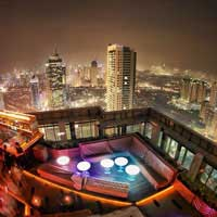 Rooftop  Cloud Lounge & Living Room in Jakarta