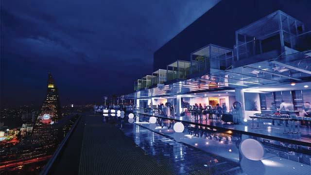 Rooftop bar U-bar at Invito Hotel in Kuala Lumpur