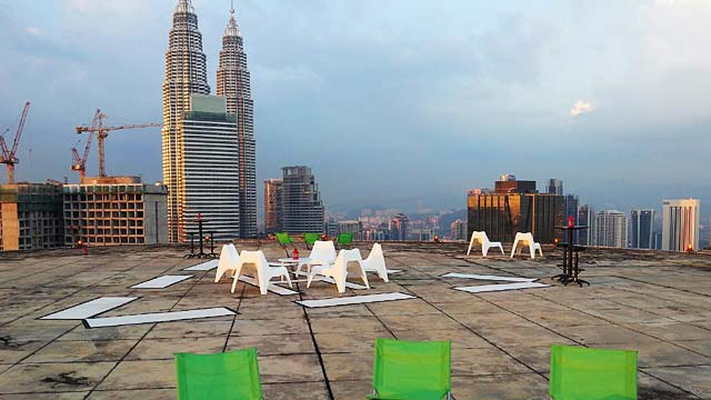 The Face Suites Rooftop Bar In Kuala Lumpur