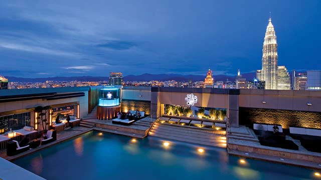 Luna bar rooftop bar in kuala lumpur the rooftop guide - Best hotel swimming pool in kuala lumpur ...