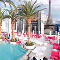 Rooftop bar Vegas Drai's Beachclub and Nightclub in Las Vegas