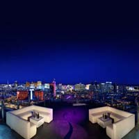Rooftop bar Vegas GhostBar in Las Vegas
