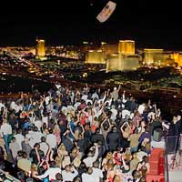 Rooftop bar Vegas Voodoo Lounge in Las Vegas
