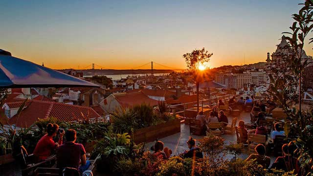Park Rooftop Bar In Lisbon The Rooftop Guide