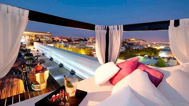 Sky Bar Rooftop Bar In Lisbon The Rooftop Guide