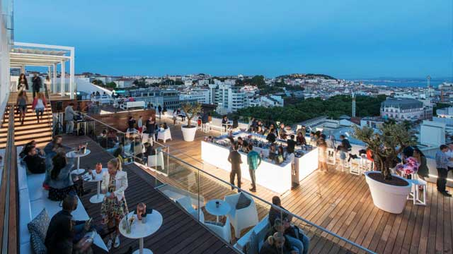 14 Best Rooftop Bars In Lisbon 2019 Update