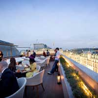 Rooftop bar London Aqua Spirit in London
