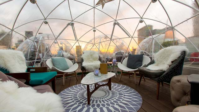 Aviary London - Rooftop bar in London | The Rooftop Guide
