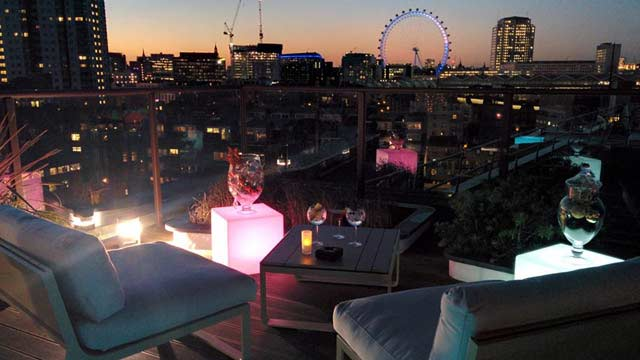 H10 Waterloo Sky Bar Rooftop Bar In London The Rooftop
