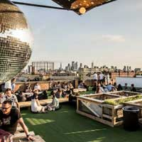 Rooftop bar London Netil 360 in London
