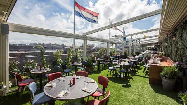 Rooftop bar London Selfridge Roof Terrace in London