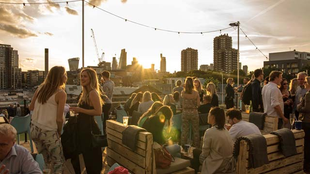 Skylight - Rooftop bar in London   The Rooftop Guide