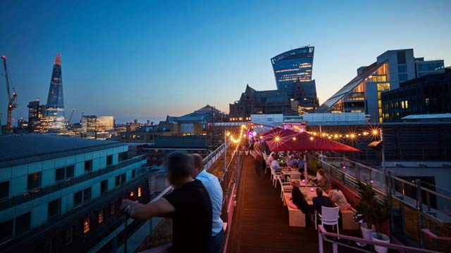 Savage Garden Rooftop Bar In London The Rooftop Guide