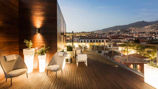 Pretas At Castanheiro Boutique Hotel Rooftop Bar In Madeira Funchal The Rooftop Guide