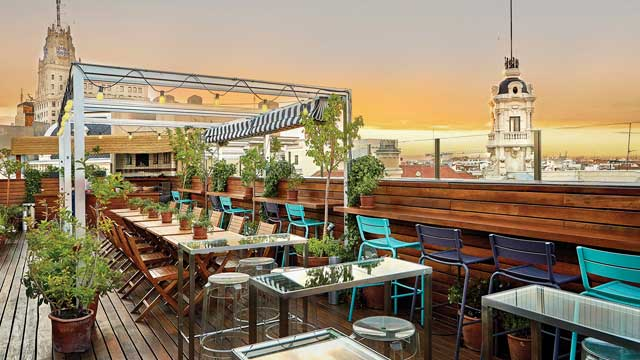 17 Best Rooftop Bars In Madrid 2020 Update