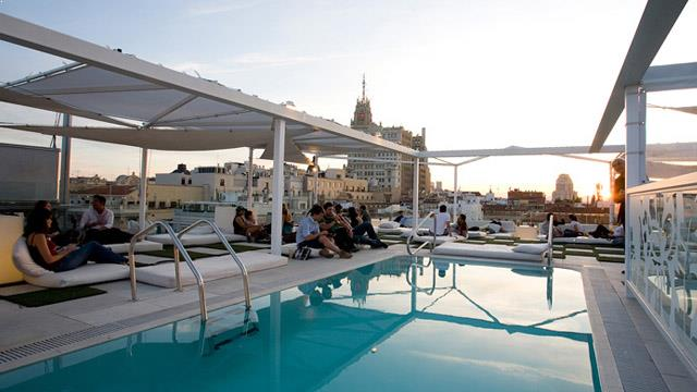 Gymage Lounge Resort Rooftop Bar In Madrid The Rooftop Guide