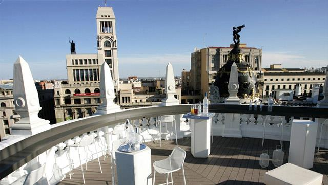 Terraza At The Principal Madrid Hotel Rooftop Bar In