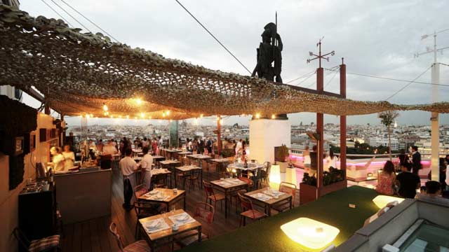 Azotea Del Circulo Rooftop Bar In Madrid The Rooftop Guide