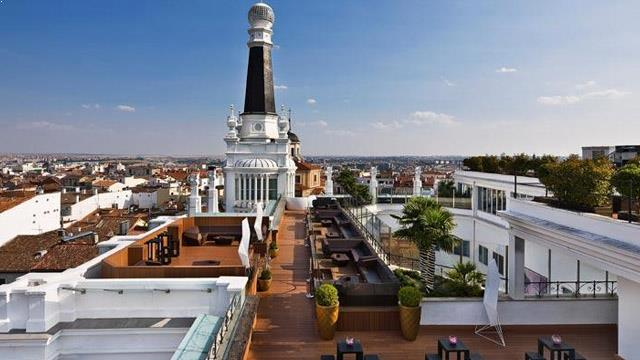 Best Rooftop Bars In Madrid 2018 Complete With All Info
