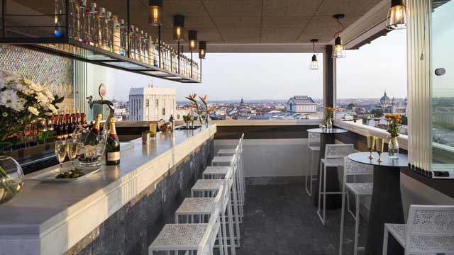 Hotel Emperador Rooftop Bar In Madrid The Rooftop Guide