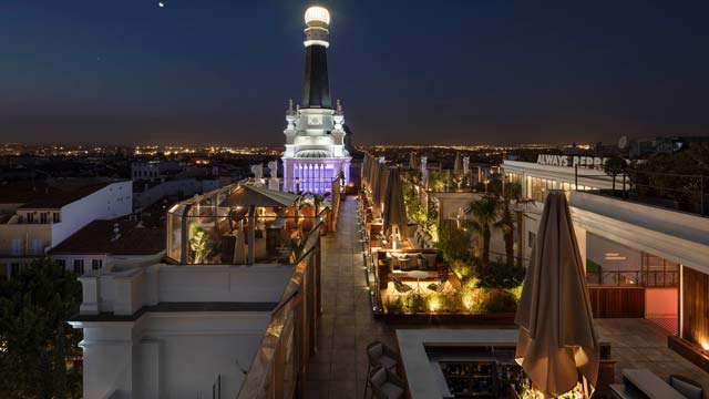 Terraza Cibeles Rooftop Bar In Madrid The Rooftop Guide