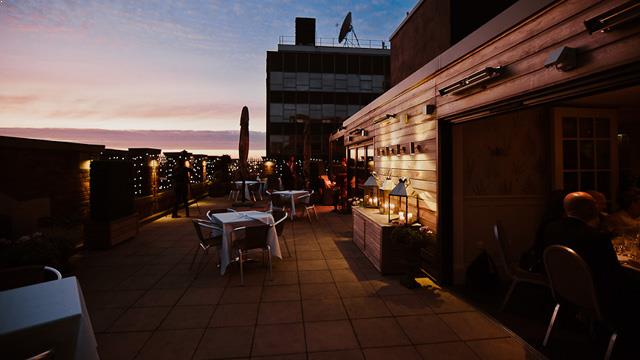 Rooftop bar Manchester Great John Street Hotel in Manchester