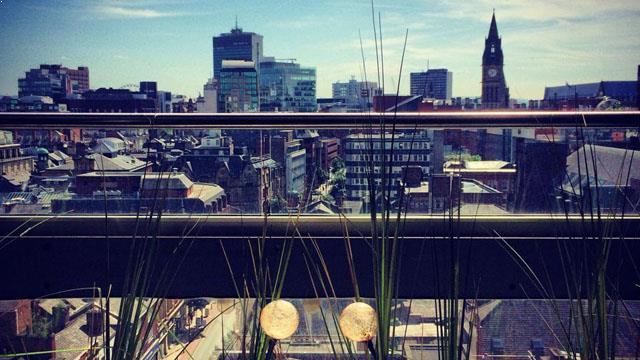 Rooftop bar Manchester Manchester House Restaurant in Manchester