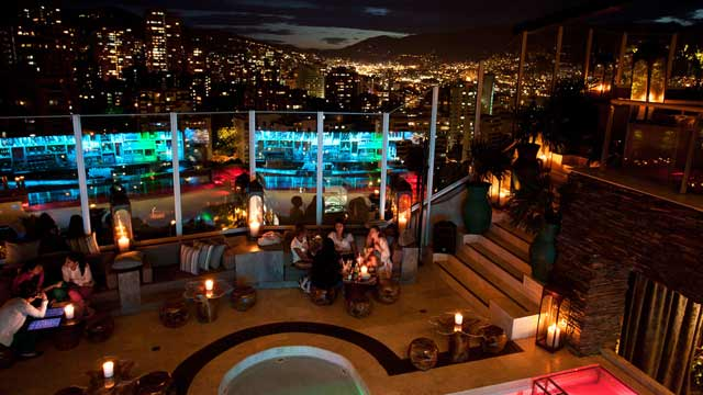 Envy Roof Top Rooftop Bar In Medell 237 N The Rooftop Guide