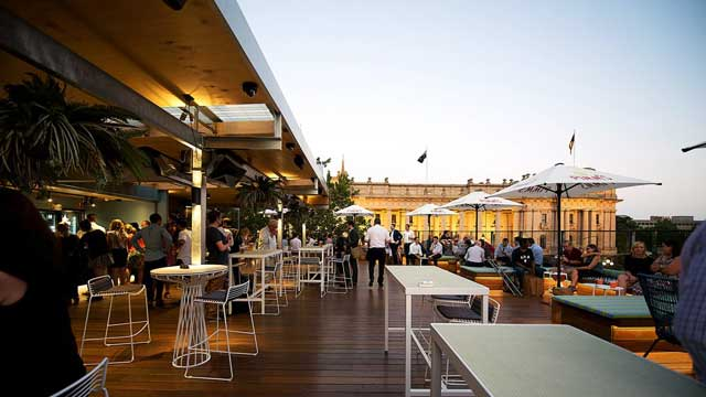 Rooftop bar Imperial Hotel in Melbourne
